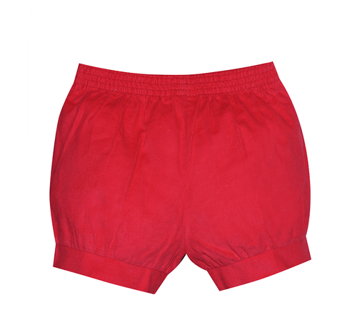 Benjamin Banded Short- Red