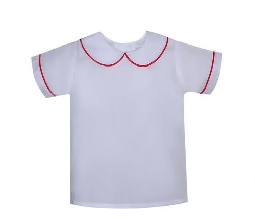 Boy Piped Shirt