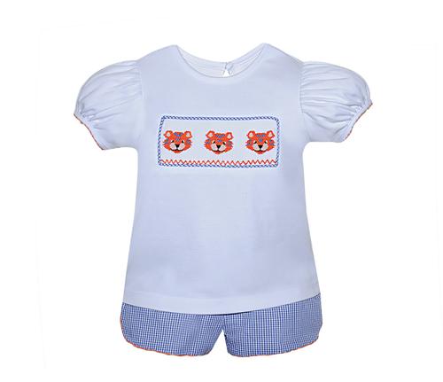 Tiger Girl Bloomer Set/Short Set