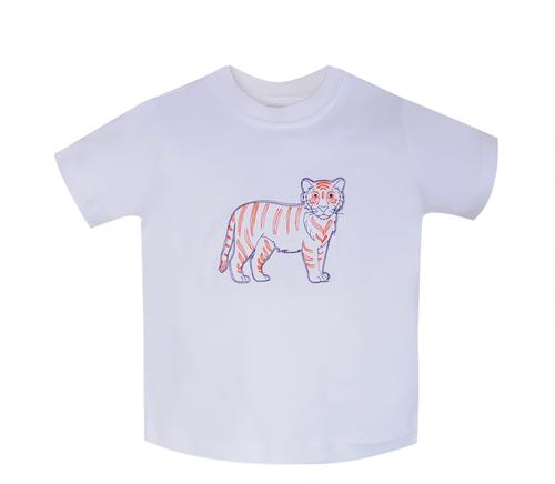 Tiger Purple/White T-Shirt