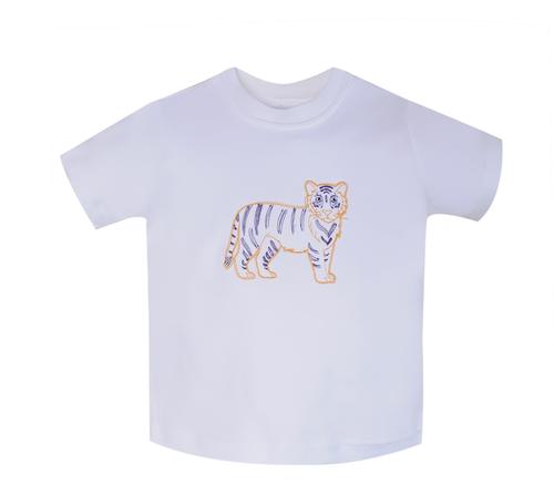 Tiger Gold/White T-Shirt