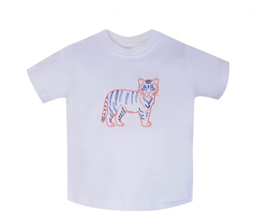Tiger Orange/White T-Shirt