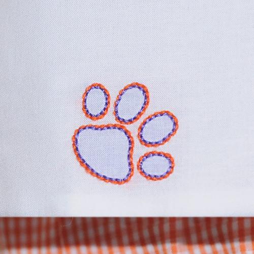 Orange/Purple Boy Diaper Set