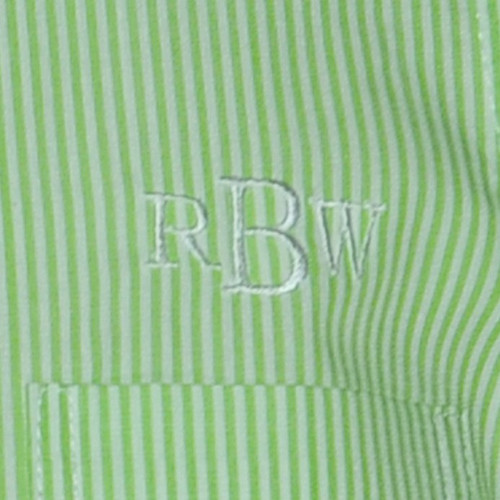Lime Stripe Brother Shirt