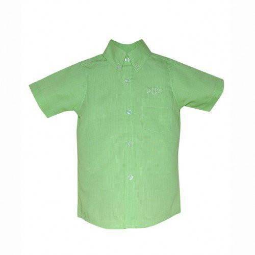 Micro Lime Brother Shirt 2