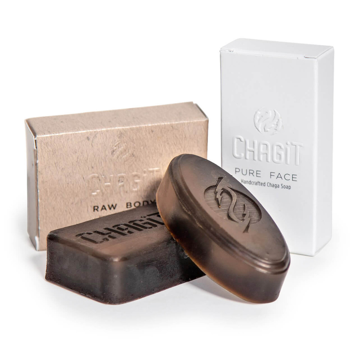 Pure Face & Raw Body Soap Combo