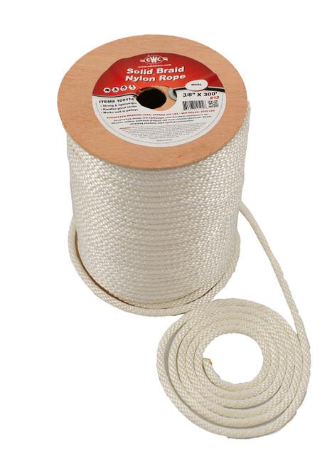 Fisherman's Solid Nylon Braid Anchor Rope #105114