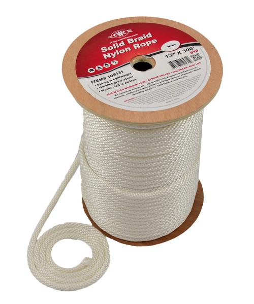 Fisherman's Solid Nylon Braid Anchor Rope