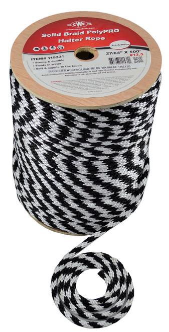 CWC® Solid Braid PolyPRO Halter Derby Rope #115331