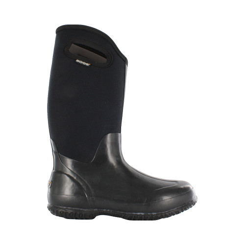 BOGS® Women's Classic High Boots BLK SMOOTH  7 #60155-7