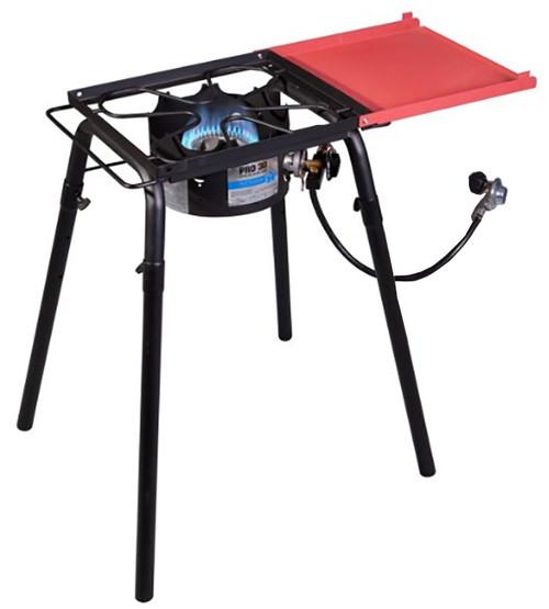 Camp Chef Pro 30 Single Burner Stove & Shelf #SB30D