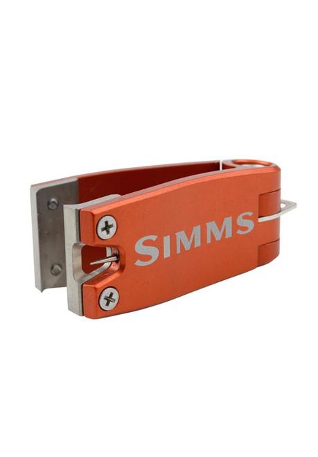 "Simms Nipper Line Clipper Simms® Orange One Size Fits Most |1.63"" x 0.7"" x .426 #11650-800-00"