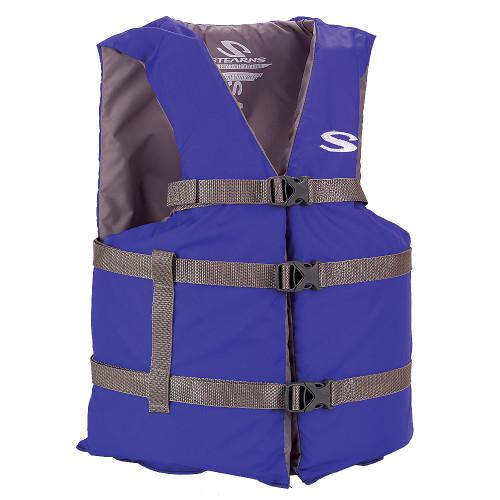 Stearns Classic Series Life Vests-PFD 2001 BLU 4XL #3000004477