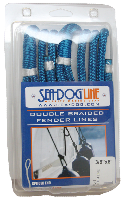 Sea Dog Fender Line (Double Braided) #302106006BL-1