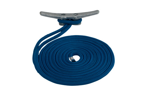 Sea Dog Dock Line (Double Braided) #302112020BL-1