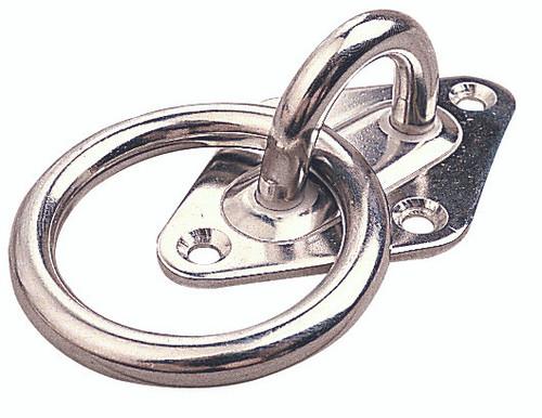 Sea Dog Diamond Eye Plate & Ring #089612