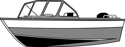 Carver Outboard Jet Boat Cover