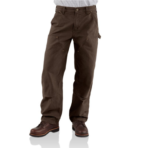 Carhartt Washed Double-Front Work Dungaree Pant #B136DKB4032