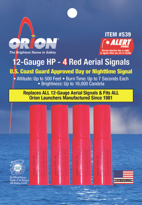 Orion Safety Signals High Performance Meteor Flare #539