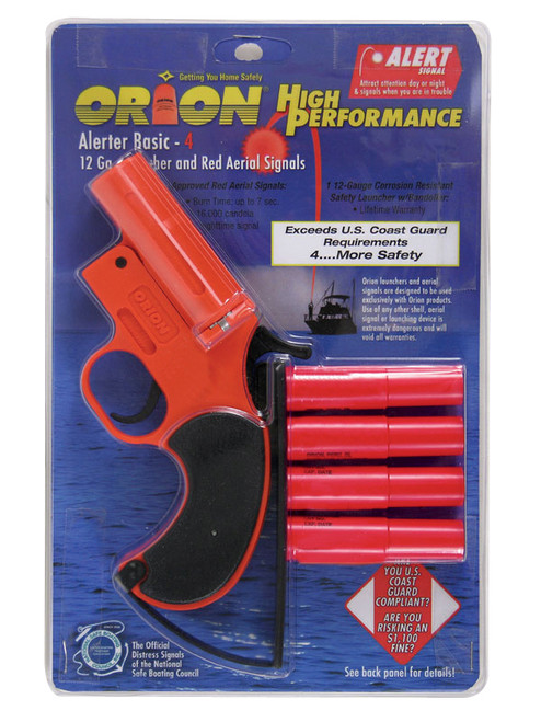 Orion Safety Signals High Performance Alerter Basic Flare Kit #584