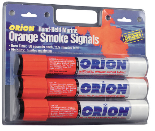 Orion Safety Signals Handheld Smoke Signal 3-Pack #958