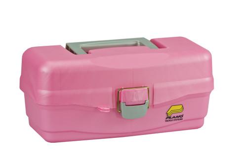 "Plano ""Take Me Fishing"" Girls 1-Tray Tackle Box #5000-89"