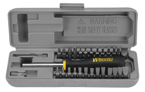 Wheeler 28-Piece Gunsmithing Screwdriver Set #664507