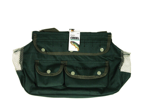 Danielson Fishing Creel & Tackle Pouch-Canvas #8381
