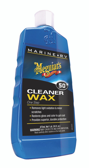 Meguiar's Inc. Boat & RV Cleaner Wax - Liquid #M5016