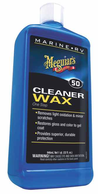 Meguiar's Inc. Boat & RV Cleaner Wax - Liquid #M5032