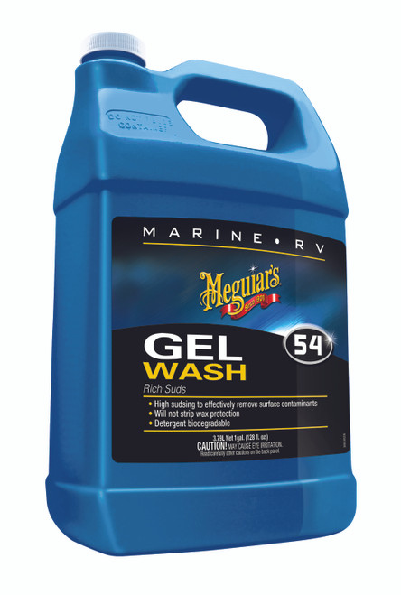 Meguiar's Inc. Boat Wash Gel 1-Gallon #M5401
