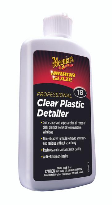 Meguiar's Inc. Mirror Glaze Clear Plastic Detailer #M1808