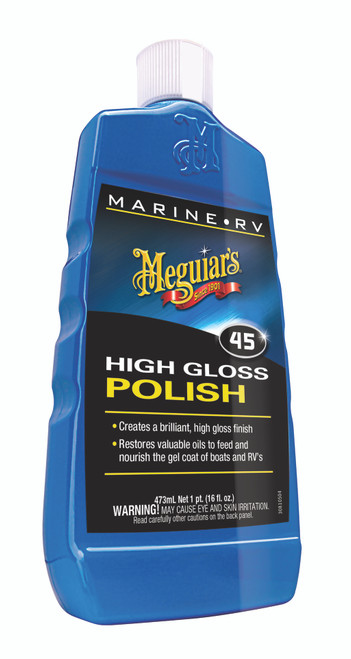 Meguiar's Inc. Boat & RV Polish & Gloss Enhancer #M4516