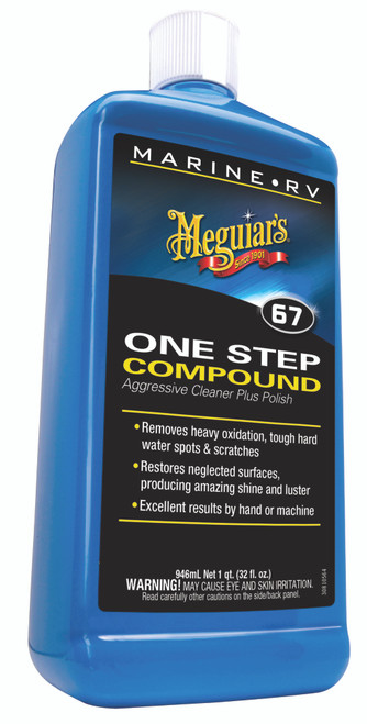 Meguiar's Inc. Marine One-Step Compound #M6732