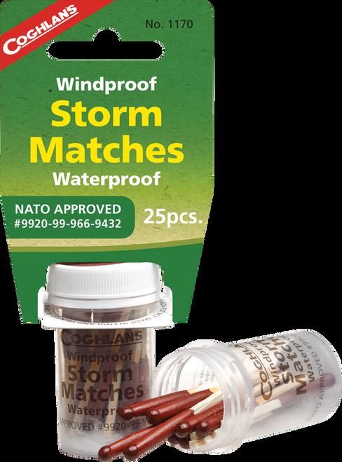 Coghlan's Windproof & Waterproof Storm Matches #1170