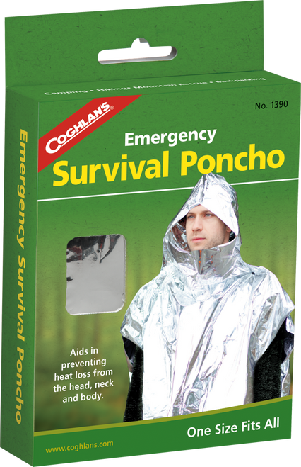 Coghlan's Emergency Survival Poncho #1390
