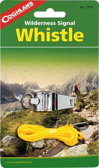 Coghlan's Wilderness Signal Whistle #7735