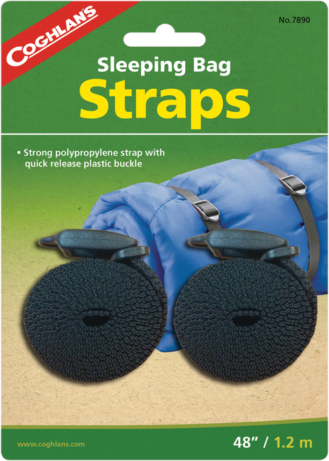 Coghlan's Sleeping Bag Straps #7890