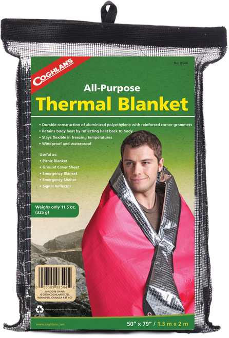 Coghlan's All-Purpose Thermal Blanket #8544