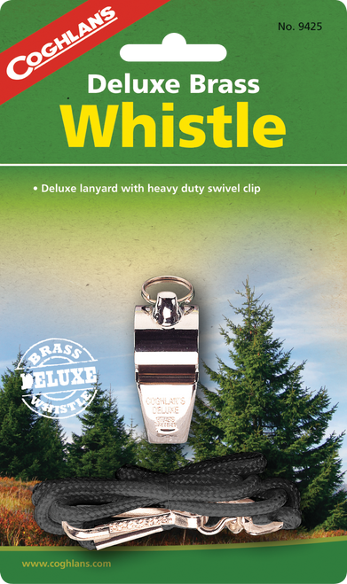 Coghlan's Deluxe Brass Whistle #9425