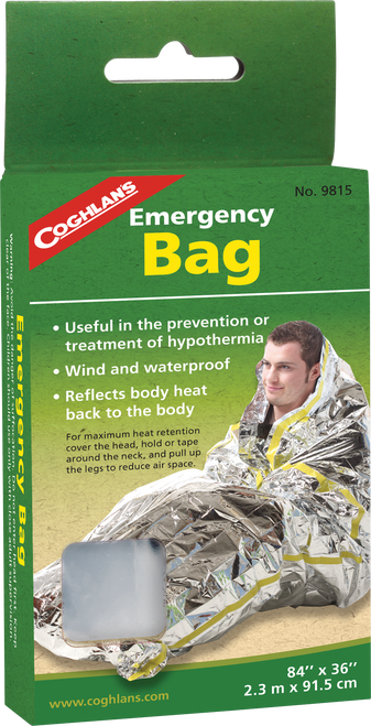 Coghlan's Emergency Heat Retention Bag #9815