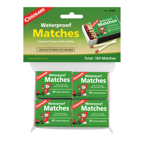 Coghlan's Waterproof Matches #940BP