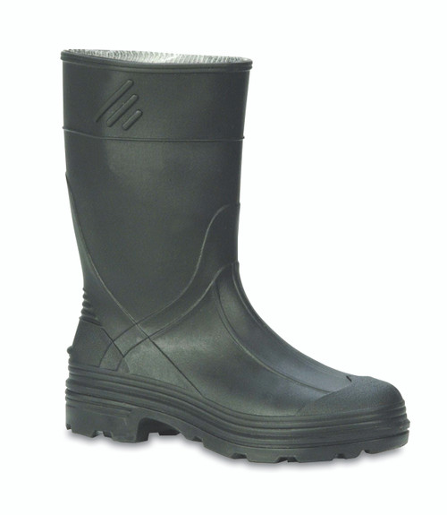 SERVUS Northerner Series Kid's PVC Rain Boot BLK K1 #76002