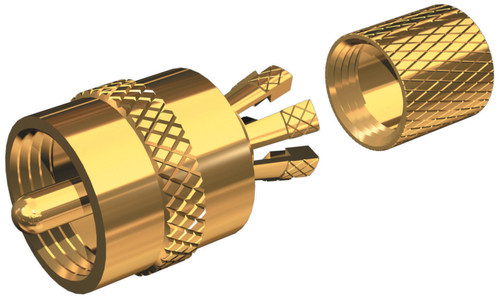 Shakespeare® Marine Centerpin Connectors #PL259-CPG