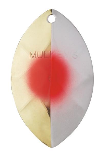 "Yakima Bait Mulkey's Guide Flash UV Spinner Blade Hazeman 6-1/2"" #6165U-HAZ"