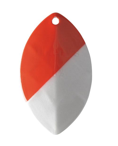 """Yakima Bait Mulkey's Guide Flash UV Spinner Blade Red White 6-1/2"""" #6165U-RW"""