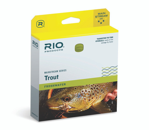 RIO Mainstream Trout Double Taper Flyline #6-20752