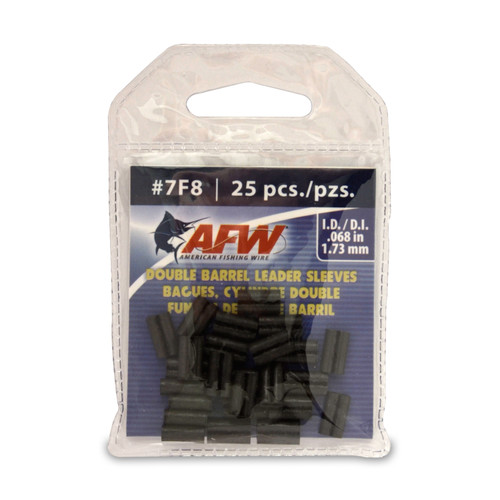American Fishing Wire Double Barrel Leader Sleeves #J07F8B-A