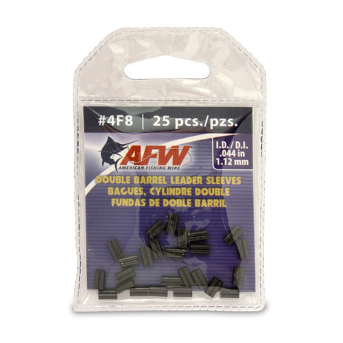 American Fishing Wire Double Barrel Leader Sleeves