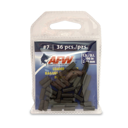 American Fishing Wire Single Barrel Leader Sleeves #J07B-A